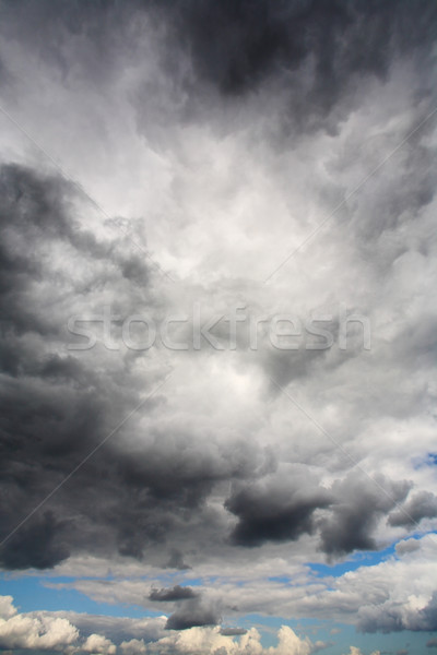 Dark Clouds, Rain and poor Weather Stock photo © mikdam