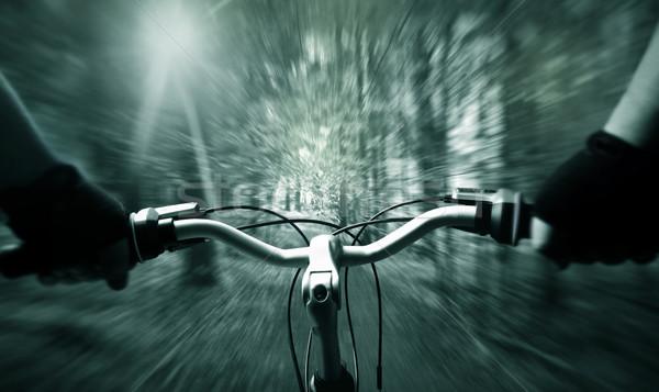 Mountain biking  Stock photo © mikdam