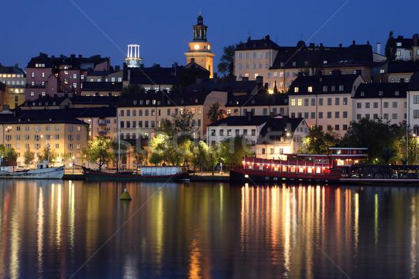 Widoku Sztokholm Zdjęcia stock © mikdam