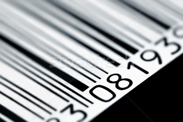 Bar Code Stock photo © mikdam