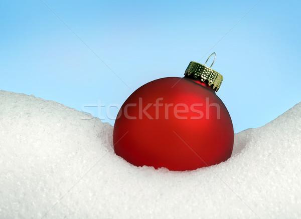 Christmas Ball Stock photo © mikdam