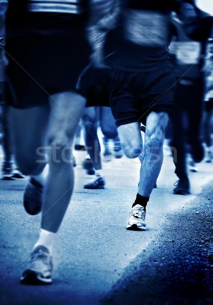 Maraton Stock fotó © mikdam