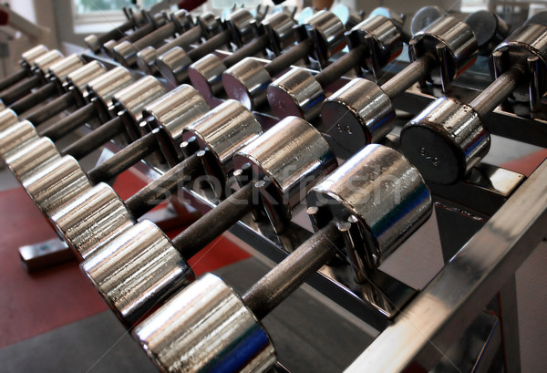 dumbbells Stock photo © mikdam