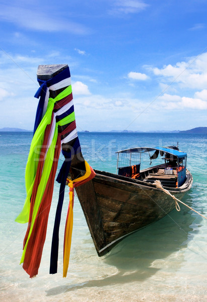 Long tail boat in Thailand Stock photo © mikdam