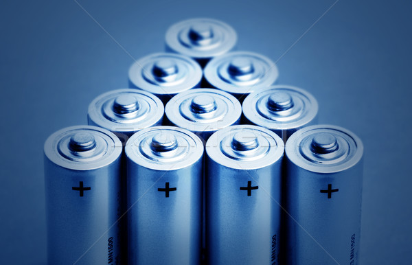 batteries Stock photo © mikdam