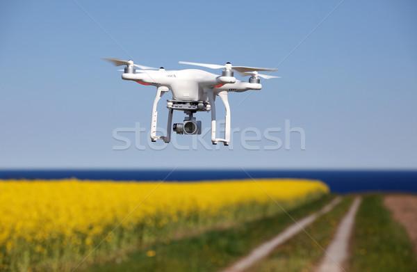Quadrocopter, copter, drone  Stock photo © mikdam