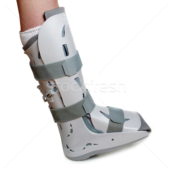 Severe ankle sprain Stock photo © mikdam