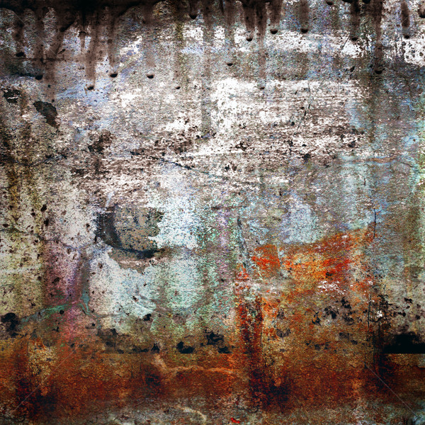 Rusty-colored grunge background Stock photo © mikdam