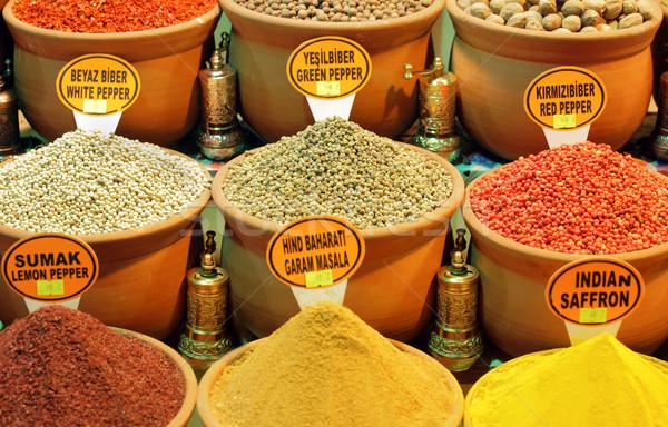 Stock photo: Spice Market