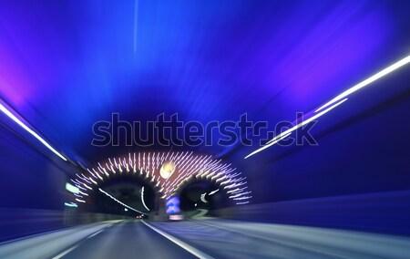 highway tunnel  Stock photo © mikdam