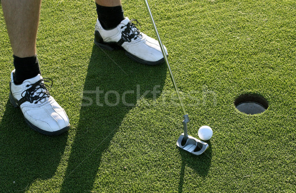 Golf Putt Stock photo © mikdam