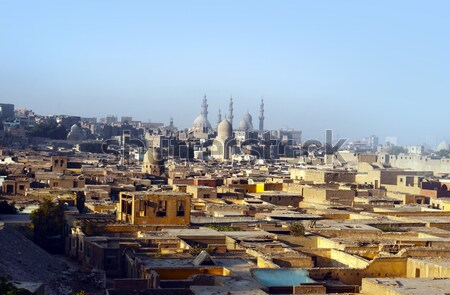 View of Cairo Stock photo © mikdam