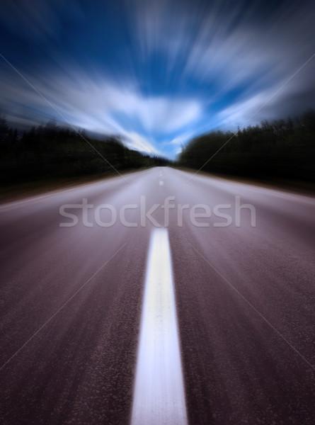 Highway/motion blur Stock photo © mikdam