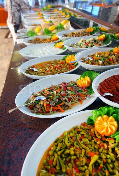 Buffet table  Stock photo © mikdam