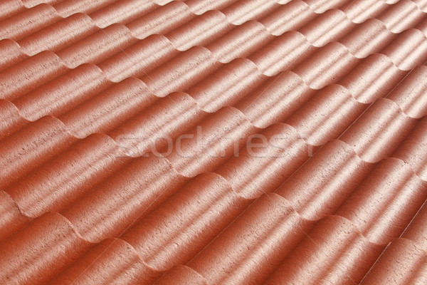 Patroon Rood dak huis abstract oranje Stockfoto © mikdam