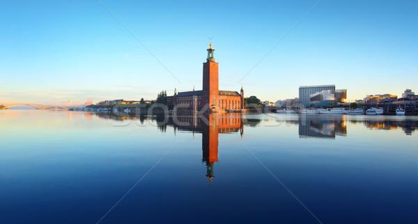 Miasta sali Sztokholm Zdjęcia stock © mikdam