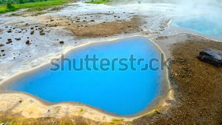 Natural Hotspring Stock photo © mikdam