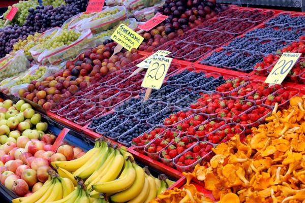 Fruits écran marché Photo stock © mikdam