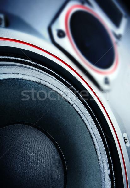 Hangfal Stock fotó © mikdam