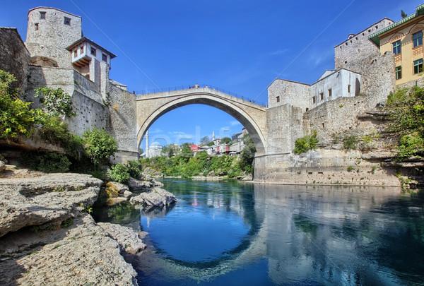 The Old Bridge, Mostar Stock photo © mikdam