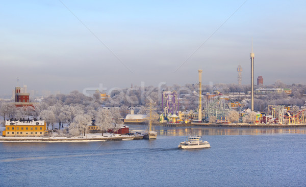 Grona Lund in Stockholm Stock photo © mikdam