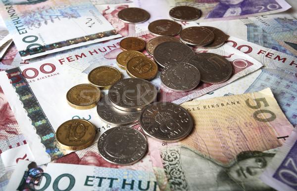Swedish Money Stock photo © mikdam
