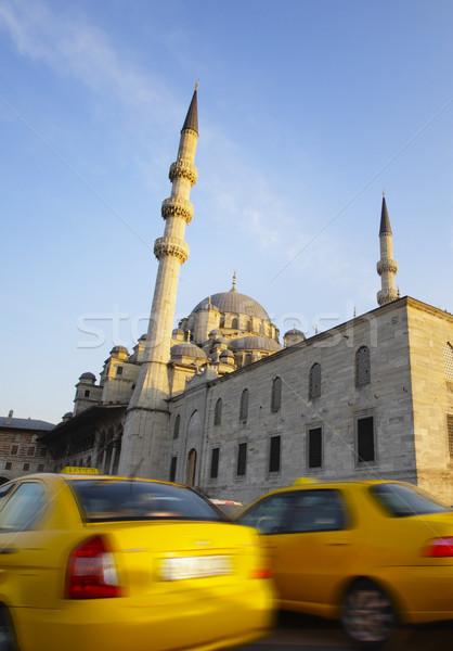 Turkish taxi Stock photo © mikdam