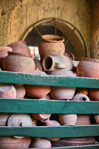 Türk el yapımı sanat pazar model kırık Stok fotoğraf © mikdam