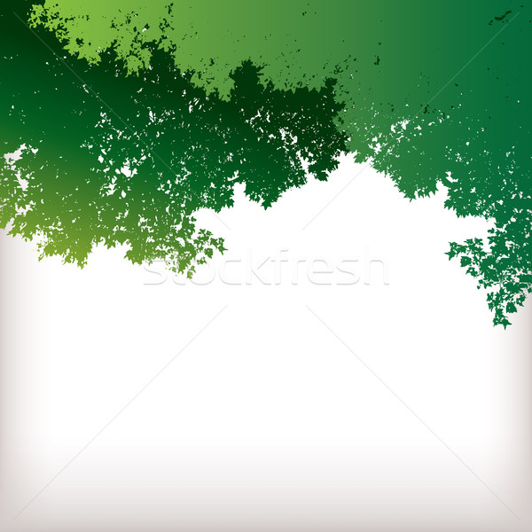 TreeScape with green leaves Stock photo © mike301