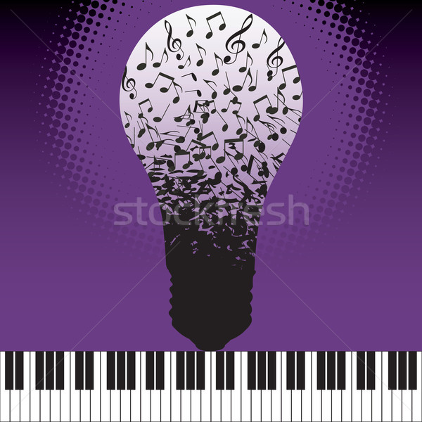 Musical ideas spring fourth Stock photo © mike301