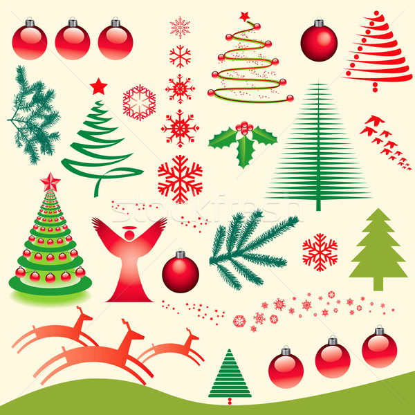 A Creative Christmas Design Stock photo © mike301