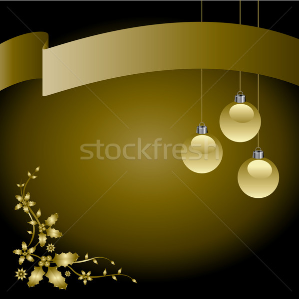 A Creative Christmas Background Stock photo © mike301