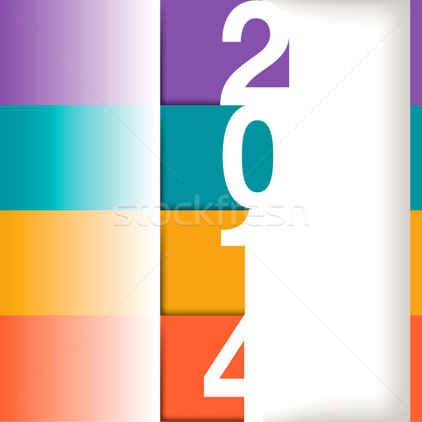 Happy New Year illustration  Stock photo © mike301