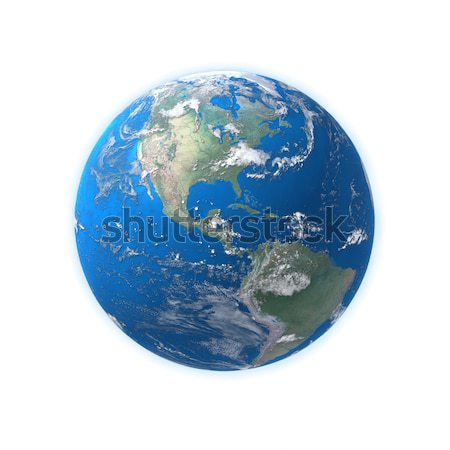 high detailed globe map, Central america, usa  Stock photo © mike_kiev