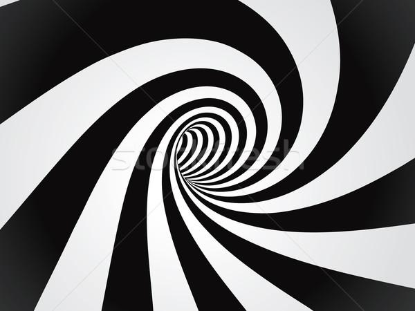 туннель аннотация технологий черный проволоки трубка Сток-фото © mike_kiev