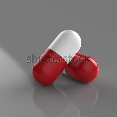 два капсулы помочь белый аптека наркотиков Сток-фото © mike_kiev