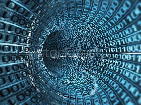 Ikili dere bilgisayar Internet soyut ağ Stok fotoğraf © mike_kiev
