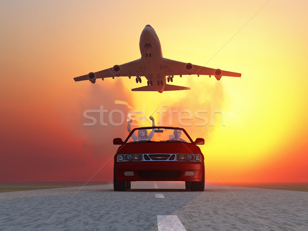 Speed race Stock photo © mike_kiev