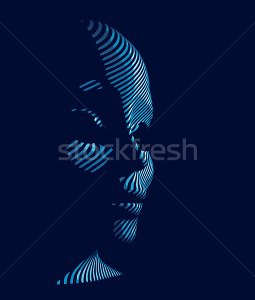 cybernetic man  Stock photo © mike_kiev