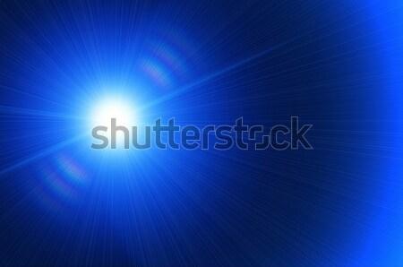日食 白 太陽 明るい 光 背景 ストックフォト © mikhail_ulyannik
