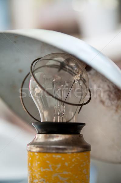 古い 中古 ランプ レトロな オブジェクト 汚い ストックフォト © mikhail_ulyannik