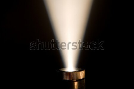 Ray of light from a projector Stock photo © mikhail_ulyannik