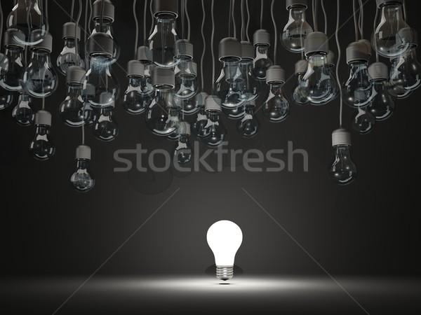 ярко черный технологий энергии электрических Сток-фото © MikhailMishchenko