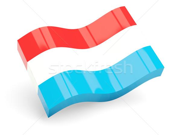3d flag of luxembourg Stock photo © MikhailMishchenko