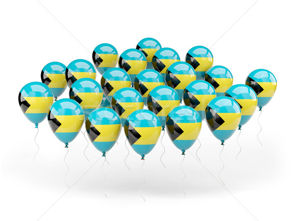 Balloons with flag of bahamas Stock photo © MikhailMishchenko
