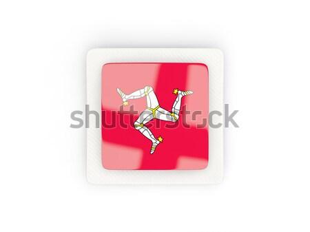 Round icon with flag of isle of man Stock photo © MikhailMishchenko