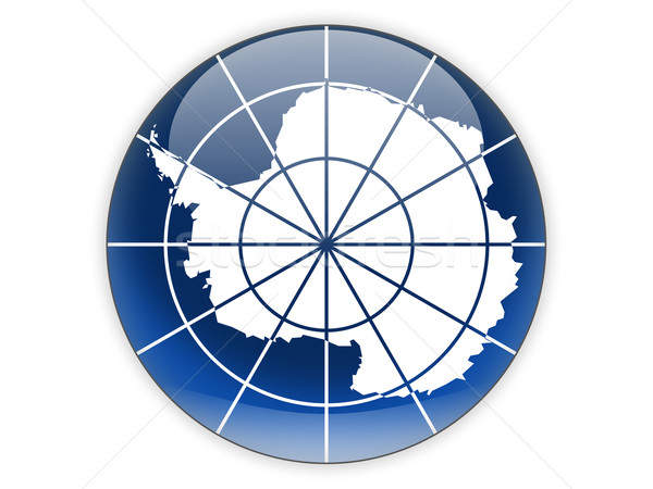 Round icon with flag of antarctica Stock photo © MikhailMishchenko