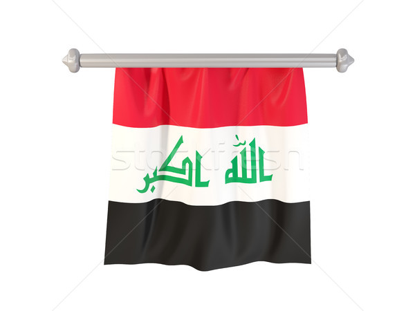 Pennant with flag of iraq Stock photo © MikhailMishchenko