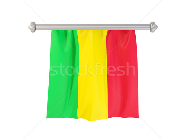 Pennant with flag of mali Stock photo © MikhailMishchenko