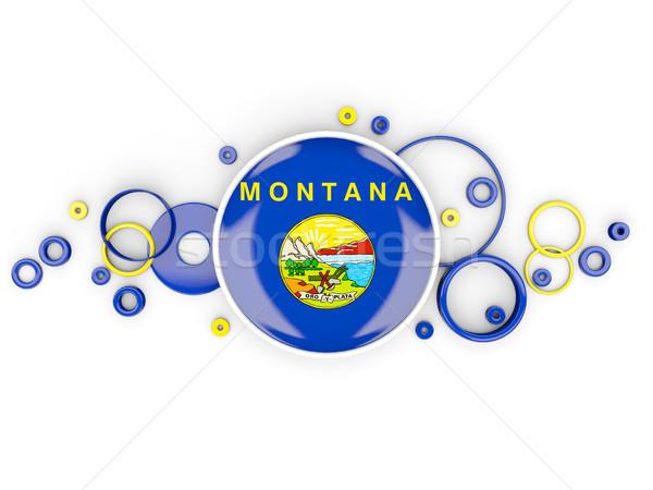 Pavillon Montana modèle États-Unis locale Photo stock © MikhailMishchenko